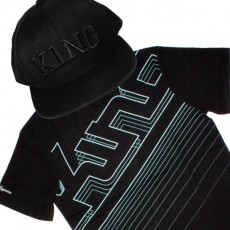 Ensemble Tee+Cap King Apparel ID - Black