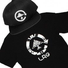 Ensemble Tee+Cap LRG Tree - Black