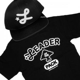 Ensemble Tee+Cap LRG Leader Of The Pack - Black