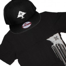 Ensemble Tee+Cap LRG Grass Roots - Black