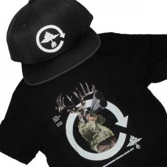 Ensemble Tee+Cap LRG Species - Black