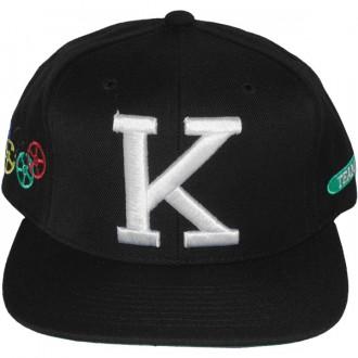 Casquette Snapback King Apparel x Starter - K-Team Cap - Black
