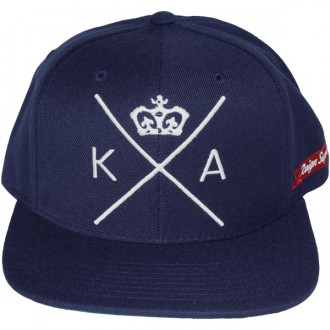 Casquette Snapback King Apparel x Starter - Insignia Cap - Navy Blue