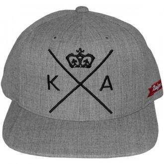 Casquette Snapback King Apparel x Starter - Insignia Cap - Grey