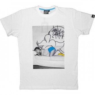 T-shirt Space Monkeys - Jasmine Tee - White