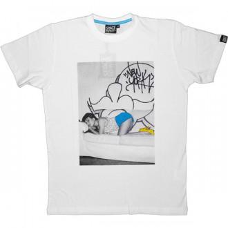 T-shirt Space Monkeys - Jasmine Tee - White