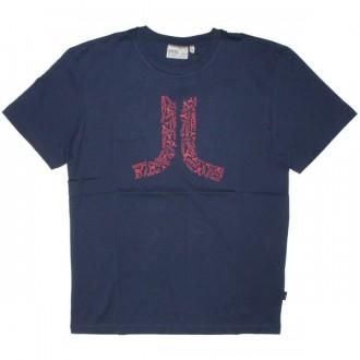 WESC T-shirt - Logos In Icon - Medium Blue