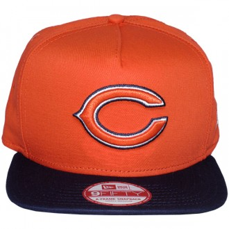 Casquette Snapback New Era - 9Fifty NFL Reverse Team Logo - Chicago Bears