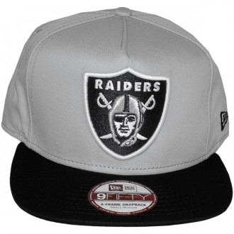 Casquette Snapback New Era - 9Fifty NFL Reverse Team Logo - Oakland Raiders