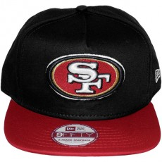 Casquette Snapback New Era - 9Fifty NFL Reverse Team Logo - San Francisco 49ers