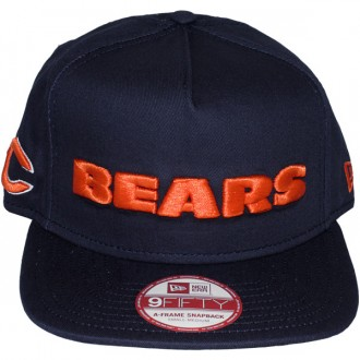 Casquette Snapback New Era - 9Fifty NFL Wordmark Team Flip - Chicago Bears