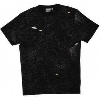 WESC T-shirt - Unidentified Frying Object - Black