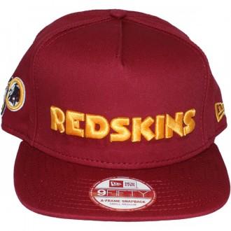 Casquette Snapback New Era - 9Fifty NFL Wordmark Team Flip - Washington Redskins