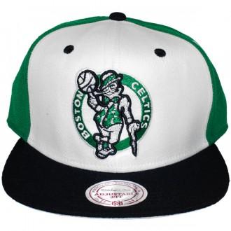 Casquette Snapback Mitchell & Ness - NBA High Crown - Boston Celtics