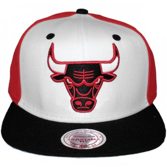 Casquette Snapback Mitchell & Ness - NBA High Crown - Chicago Bulls