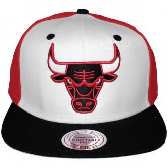 Casquette Snapback Mitchell & Ness - NBA High Crown - Chicago Bulls