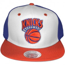 Casquette Snapback Mitchell & Ness - NBA High Crown - New York Knicks