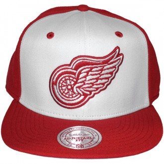 Casquette Snapback Mitchell & Ness - NHL High Crown - Detroit Red Wings