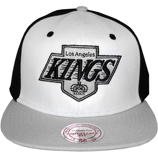 casquette snapback mitchell ness nhl high crown los angeles kings. Black Bedroom Furniture Sets. Home Design Ideas