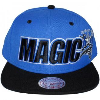 Casquette Snapback Mitchell & Ness - NBA Logo & Wordmark - Orlando Magic