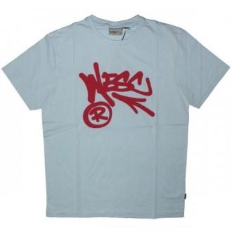 WESC T-shirt - Wesc Arrow - Mist Blue