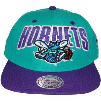 Casquette Snapback Mitchell & Ness - NBA Flashback - Charlotte Hornets