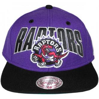 Casquette Snapback Mitchell & Ness - NBA Flashback - Toronto Raptors