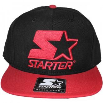 Casquette Snapback Starter - 2 Tone Snapback - Black/Red