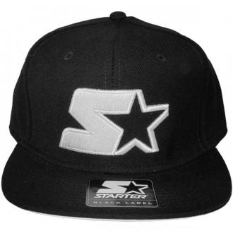 Casquette Snapback Starter - Starter Logo Neon Snapback - Black/White