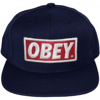 Casquette Snapback Obey - Original - Navy Blue