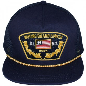 Casquette Trucker Wu-Tang - WU Captain trucker snapback - navy blue