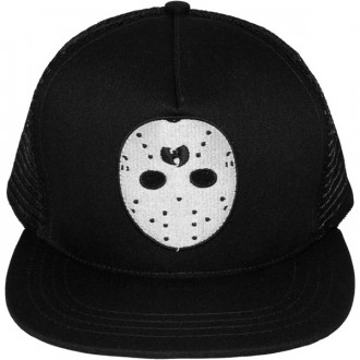 Casquette Trucker Wu-Tang - Ghost Mask trucker snapback - Black