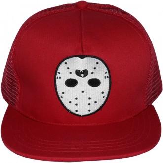 Casquette Trucker Wu-Tang - Ghost Mask trucker snapback - Red