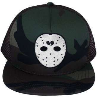 Casquette Trucker Wu-Tang - Ghost Mask trucker snapback - Camouflage