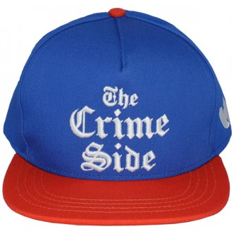 Casquette Snapback Wu-Tang - Crime Side snapback - Royal Blue