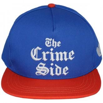 Casquette Snapback Wu-Tang - Crime Side snapback - Royal Blue