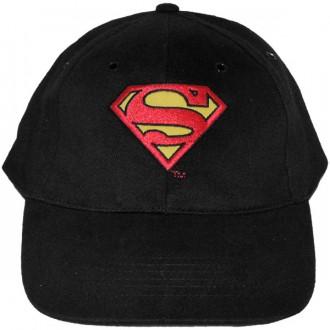 Casquette Trucker DC Comics - Superman Logo - Black
