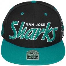 Casquette Snapback 47 Brand - Retro Script - San Jose Sharks