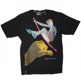 LRG T-shirt - Man Vs. Beast Tee - Black