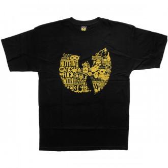 T-shirt Wu-Tang - Diagram Tee - Black