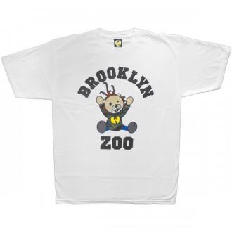 T-shirt Wu-Tang - Brooklyn Zoo Tee - White