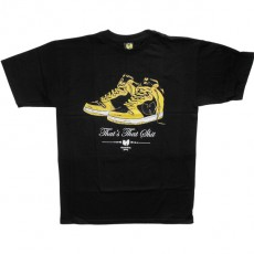 T-shirt Wu-Tang - Wu Kicks Tee - Black