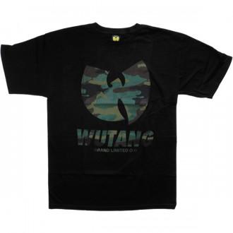 T-shirt Wu-Tang - WBL Logo Tee - Black/Camouflage