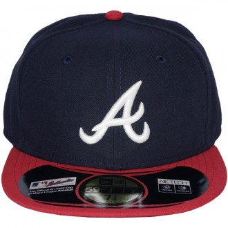 Casquette Fitted New Era - 59Fifty MLB Authentic Collection - Atlanta Braves