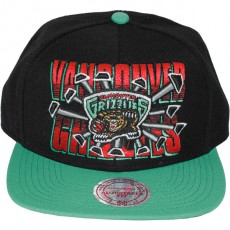 Casquette Snapback Mitchell & Ness - NBA Backboard Beak - Vancouver Grizzlies
