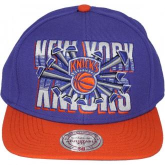 Casquette Snapback Mitchell & Ness - NBA Backboard Beak - New York Knicks