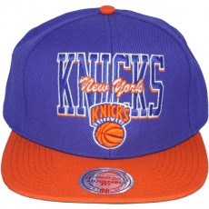 Casquette Snapback Mitchell & Ness - NBA Reverse Stack - New York Knicks