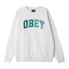 Sweatshirt Obey - Obey Sports Crew - Ash Grey