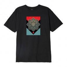 T-Shirt Obey - Blood & Oil Mandala - Off Black