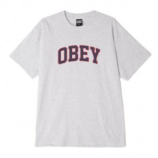 T-Shirt Obey - Obey Academic - Heather Grey